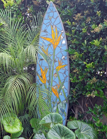 Custom Surfboard Sculpture Solana Beach, CA
