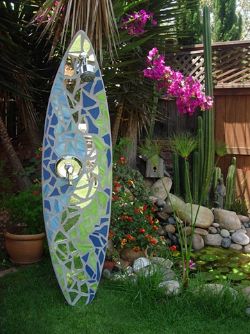 Custom Surfboard Shower Del Mar, CA