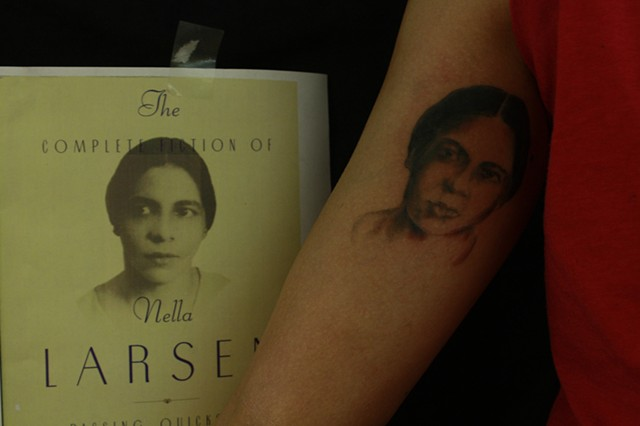 nella larson, portrait tattoo, black and grey tattoo, clio reese sady, clio sady