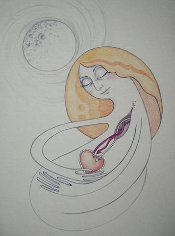 I wish I was the moon