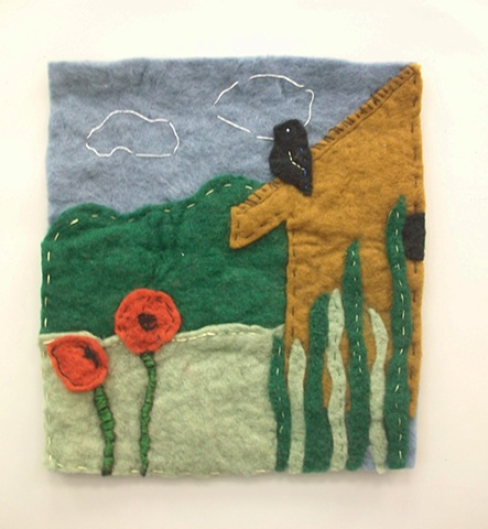 Felt Collage by Jennifer Erickson
