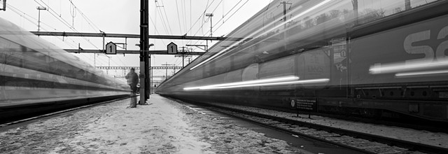ICE and Intercity Trains Gumligen Station