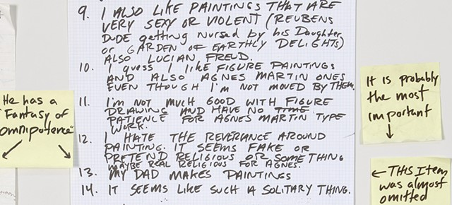 Notes on Painting