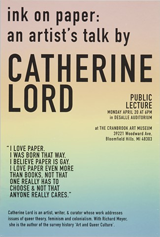GayBooks: Catherine Lord