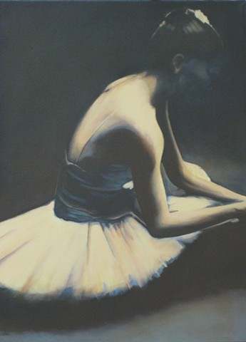 """study for a seated ballerina"""