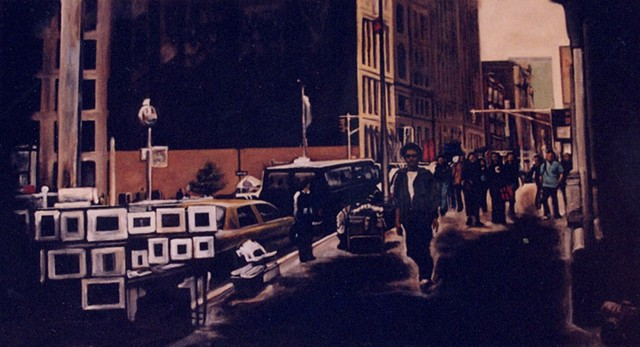 """New York Scene, No.2"""