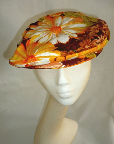 Aloha vintage fabric driving cap