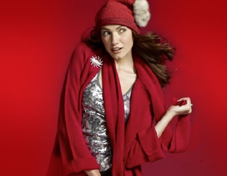 tonya gross millinery for Sears' be the santa 2010 holiday