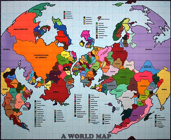 World Map I
