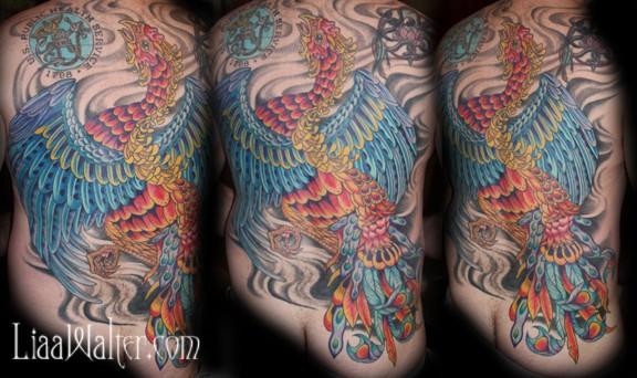 Phoenix back-piece