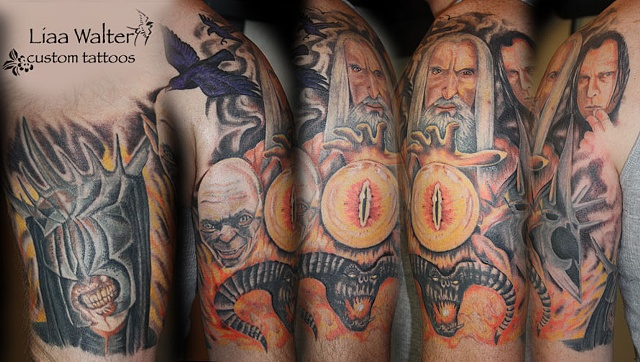 Lord of the Rings sleeve