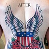 """""""man-stamp"""" cover-up with pride"""
