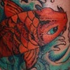 Cobra covered with koi (after)