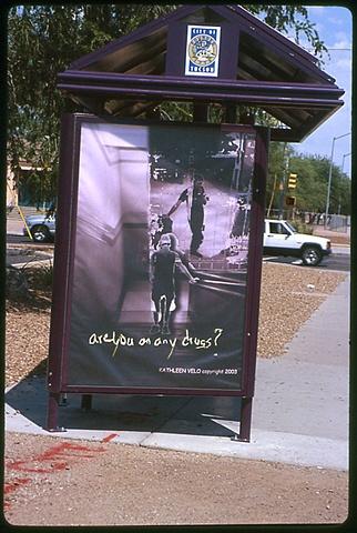 Bus Stop Mural - Drugs