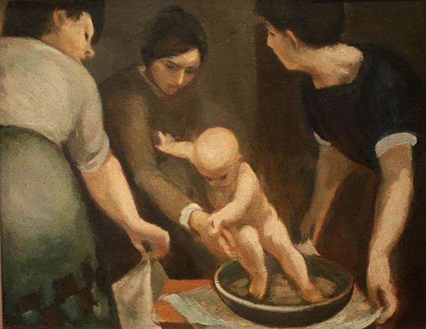 Bathing the Child