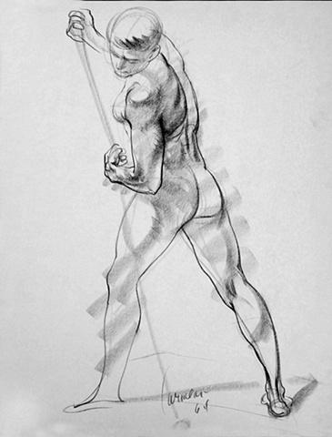 Standing Male Model