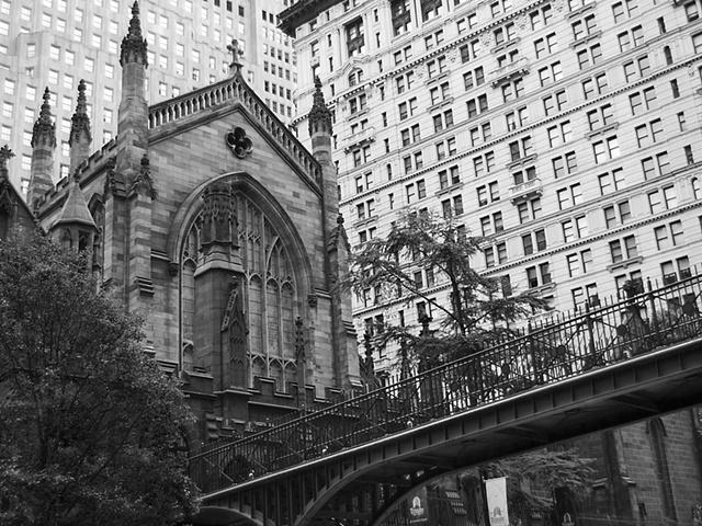 Trinity Church lower Manhattan