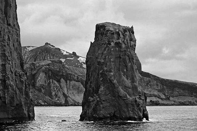 Basalt cones, Antarctica