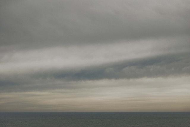 fog, clouds, sea, Martha's vineyard
