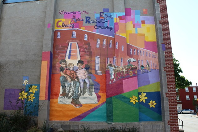 Culture and Growth in C.A.R.E. Community Mural