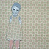 "Marie Van Elder ""Untitled (wall paper girl)"""