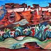 "Mary Harnett ""San Juan River near Mexican Hat"""