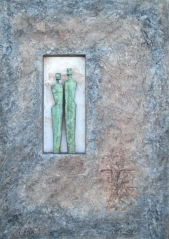 Vertigris Bronze Figures