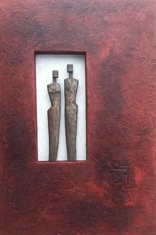 Bronze Man / Woman