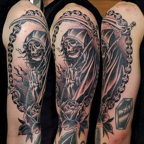 Black and Grey Reaper