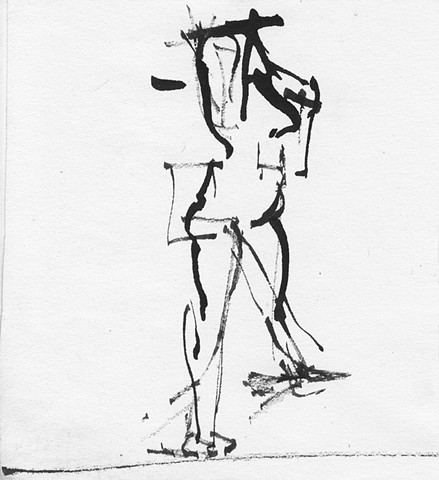 Gesture Drawing, No. 2