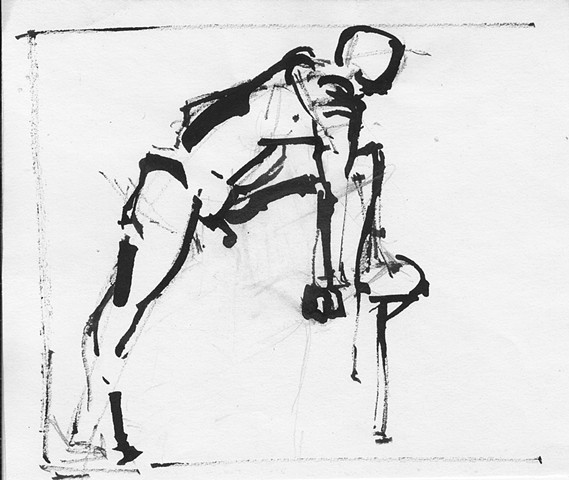 Gesture Drawing, No. 1