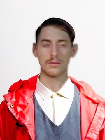 Don Hershey Untitled le visage d'un garçon