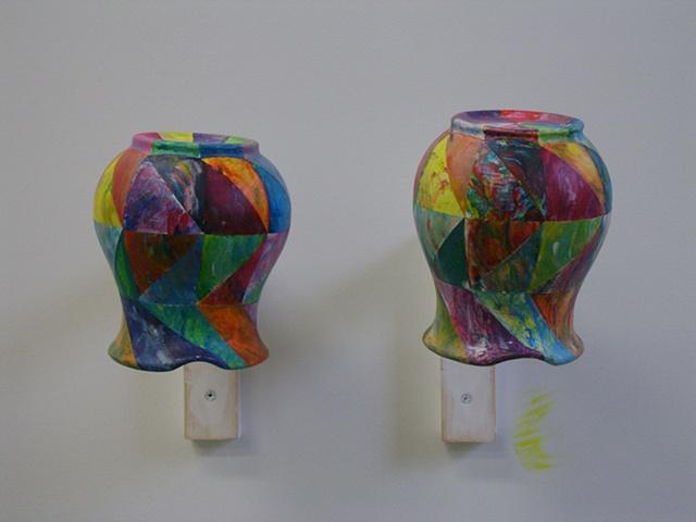 Colored pitchers (shui-mo hua)