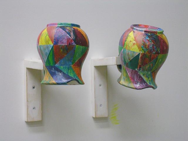 Troy Hagenbart Colored pitchers (shui-mo hua)