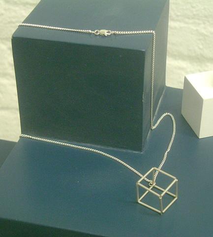 Single Cube Pendant