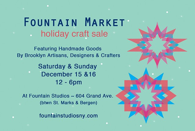Fountain Holiday Market Holiday Craft Sale