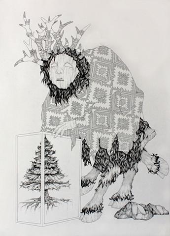 Alex DeMaria Elk Mask