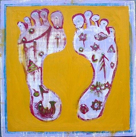 feet of the guru