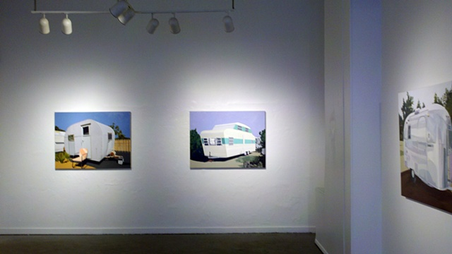 Installation View, 709 Penn Gallery, March 2 to April 13, 2012, Pittsburgh PA