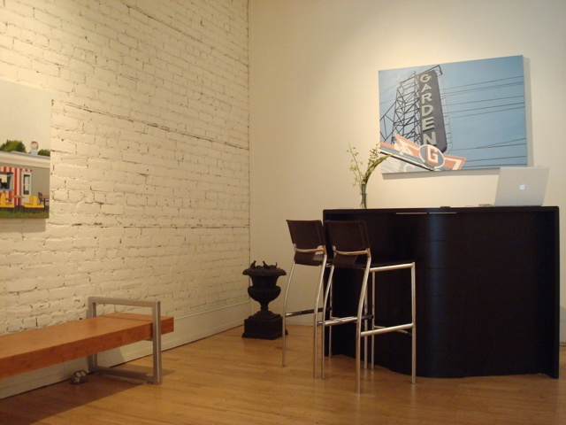 Installation view, July 2010 Gallery Page and Strange, Halifax NS