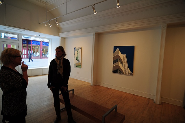 "Installation view of ""Vacated,"" at Gallery Page and Strange, Halifax, NS"