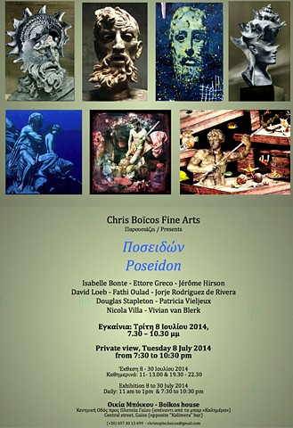 Poseidon Exhibition Invite