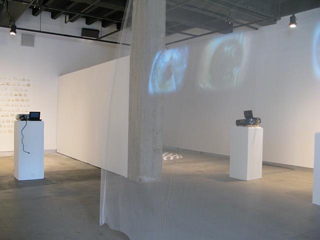 Works is Progress Installation at Grossman Gallery at Lafayette College, Easton, PA