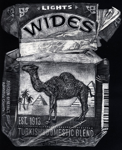 Camel Wides Light
