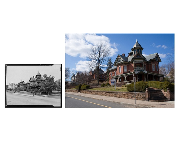 Homes on Dwight Street  Holyoke, Massachusetts 1941 & 2007
