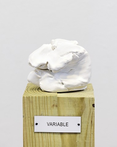 "Detail: Untitled (Plinth Studies with Ambiguous Nameplate Augmentation) [""Variable""]"