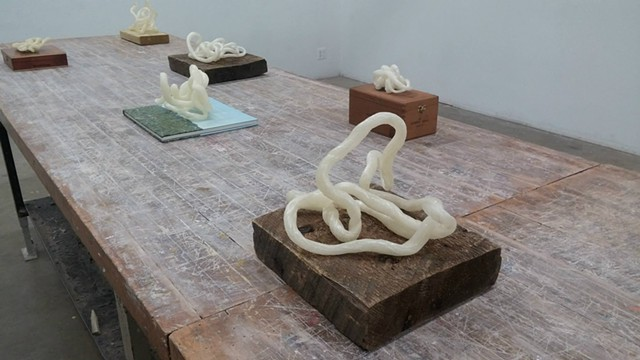 Sugar Iterations / Salient Objects [Installation View]