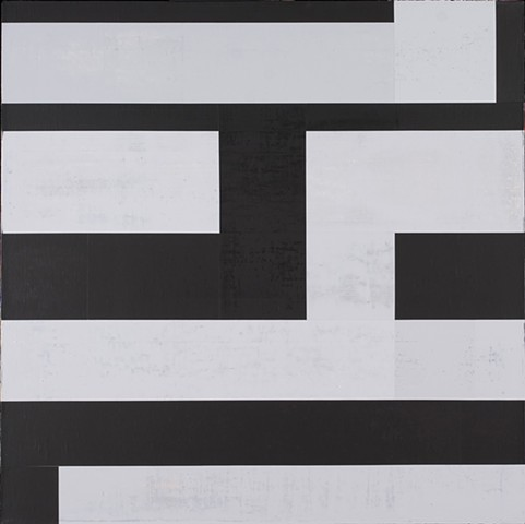 "Review of ""Constructed Spaces: Paintings by George Schroeder"""