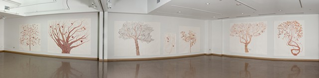 The Orchard, Installation view