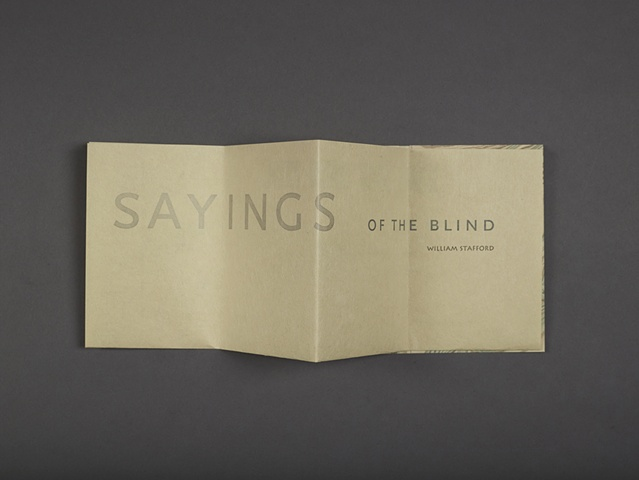Sayings of the Blind